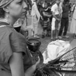 Mujer indígena originaria de lo que en la actualidad es México.