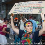 Sunday, September 21, 2014 - People's Climate March. A Indigenous woman from Guatemala.