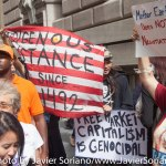 """9/22/2014. NYC - """"Indigenous resistance since 1492."""""""