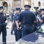 9/22/2014. NYC - Are these NYPD officers having fun? (¿Se están divirtiendo estos oficiales del NYPD?