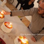 1/23/2015 NYC - Fay Chiang birthday's cakes.   Photo by Javier Soriano/www.JavierSoriano.com