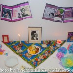 2/17/2015 NYC - Audre Lorde's altar. Photo by Javier Soriano/www.JavierSoriano.com