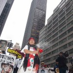 4/26/2015 - New York City - Rally and march in support of the 43 Mexican students killed by the Mexican government.