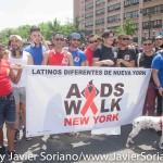 Sunday, May 17th, 2015. Manhattan, New York City - 30th annual AIDS Walk New York.  Photo by Javier Soriano/www.JavierSoriano.com
