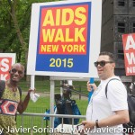 Sunday, May 17th, 2015. Central Park, Manhattan, New York City - 30th annual AIDS Walk New York.  Photo by Javier Soriano/www.JavierSoriano.com