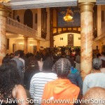 6/18/2015 - Prayer vigil at the First African Methodist Episcopal Church (First AME Church: Bethel) in Harlem for the African Methodist Episcopal (AME) Church in Charleston, South Carolina. Photo by Javier Soriano/http://www.JavierSoriano.com/