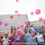 6/21/2015 - Balloons for Kyam Livingston. Photo by Javier Soriano/http://www.JavierSoriano.com/