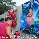 6/21/2015 - After the rally for Kyam Livingston, people celebrated Father's Day and Anita Neal's birthday. Photo by Javier Soriano/http://www.JavierSoriano.com/