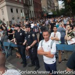 6/26/2015 NYC - People celebrate that the United States of America Supreme Court ruled on Friday, June 26, 2015, that gay marriage is legal everywhere in the U.S.A. Photo by Javier Soriano/http://www.JavierSoriano.com/