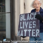 7/6/2015 Brooklyn, NYC - #PeoplesMonday activist in Flatbush. Photo by Javier Soriano/http://www.JavierSoriano.com/