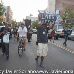 7/6/2015 Brooklyn, NYC - #PeoplesMonday activists in Flatbush. Photo by Javier Soriano/http://www.JavierSoriano.com/