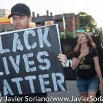 7/6/2015 Brooklyn, New York City - #BlackLivesMatter activists in Flatbush.  6/7/2015. Brooklyn, ciudad de Nueva York - Activistas de #BlackLivesMatter en Flatbush.  Photo by Javier Soriano/www.JavierSoriano.com