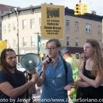 8/3/2015 Flatbush, Brooklyn, NYC - New Yorkers demand justice for Alando Brissett. Photo by Javier Soriano/http://www.JavierSoriano.com/
