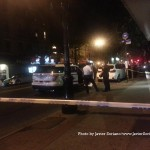 9/19/2015, Flatbush, NYC - An American-Panamanian man was shot today on Church Ave, between Ocean Ave and East 19th St, at around 5:41 p.m. Photo by Javier Soriano/http://www.JavierSoriano.com/