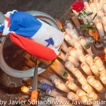 9/21/2015, Flatbush, NYC - Vigil for an American-Panamanian man killed on 9/19/2015. Photo by Javier Soriano/http://www.JavierSoriano.com/