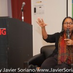 10/05/2015 NYC - bell hooks at The New School.   Photo by Javier Soriano/http://www.JavierSoriano.com/