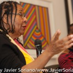10/07/2015 NYC. The New School - bell hooks. Photo by Javier Soriano/http://www.JavierSoriano.com/