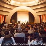 10/08/2015 NYC. The New School - People attending the conversation between bell hooks and Charles Blow.   Photo by Javier Soriano/http://www.JavierSoriano.com/