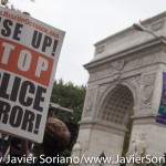 10/24/2015 NYC - Rally in support of people killed by police in the United States of America.  Photo by Javier Soriano/http://www.JavierSoriano.com/