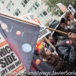 10/24/2015 NYC -  March in support of people killed by police in the United States of America.  Photo by Javier Soriano/http://www.JavierSoriano.com/