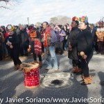 11/26/2015 - 46th National Day of Mourning 2015. (Photo taken after the ceremony.) Cole's Hill. Plymouth, Massachusetts.  Photo by Javier Soriano/http://www.JavierSoriano.com/