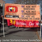 11/26/2015 - 46th National Day of Mourning 2015. Cole's Hill. Plymouth, Massachusetts.  Photo by Javier Soriano/JavierSoriano.com