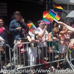 6/26/2016 - Bernie Sanders supporters marching in the New York City Pride March.  Photo by Javier Soriano/http://www.JavierSoriano.com/