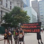 "7/26/2016 - Philadelphia, Pa.  ""Revolution - Nothing less!"" Photo by Javier Soriano/http://www.JavierSoriano.com/"