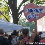 """7/26/2016 - Philadelphia, Pa.  """"Bernie or Bust."""" Photo by Javier Soriano/http://www.JavierSoriano.com/"""