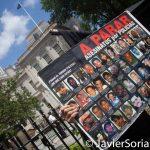 8/2/2016 - #ShutDownCityHallNYC activists in Abolition Park ( City Hall Park). NYC. Photo by Javier Soriano/http://www.JavierSoriano.com/