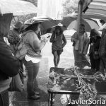 10/9/16 NYC - 9th Annual Indigenous Day Of Remembrance. It was a raining day. #WaterIsLife Photo by Javier Soriano/http://www.JavierSoriano.com/