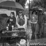 10/9/16 NYC - 9th Annual Indigenous Day Of Remembrance. It was a raining day. #WaterIsLife. Photo by Javier Soriano/http://www.JavierSoriano.com/