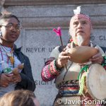 11/5/2016 Manhattan - NYC Prayer March in support of the Standing Rock Sioux Nation.  Photo by Javier Soriano/http://www.JavierSoriano.com/