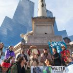 11/5/2016 Manhattan - NYC Prayer March in support of the Standing Rock Sioux Nation. 