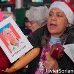 12/25/2016. Manhattan New York City - Parranda to FREE Oscar López Rivera.  25/12/2016. Manhattan, ciudad de Nueva York - Manifestación para pedir por la libertad de Oscar López Rivera.   Photo by Javier Soriano/www.JavierSoriano.com