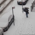12/17/2016 It's Winter wonderland...We got some snow in NYC.  Photo by Javier Soriano/www.JavierSoriano.com