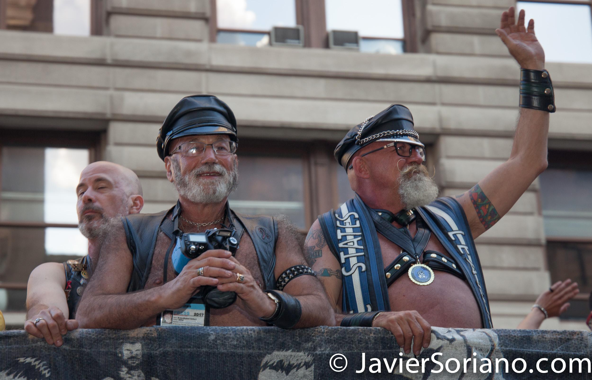 25/6/2017 Manhattan, Nueva York - Marcha del Orgullo LGBTQ 2017. Foto por Javier Soriano/www.JavierSoriano.com