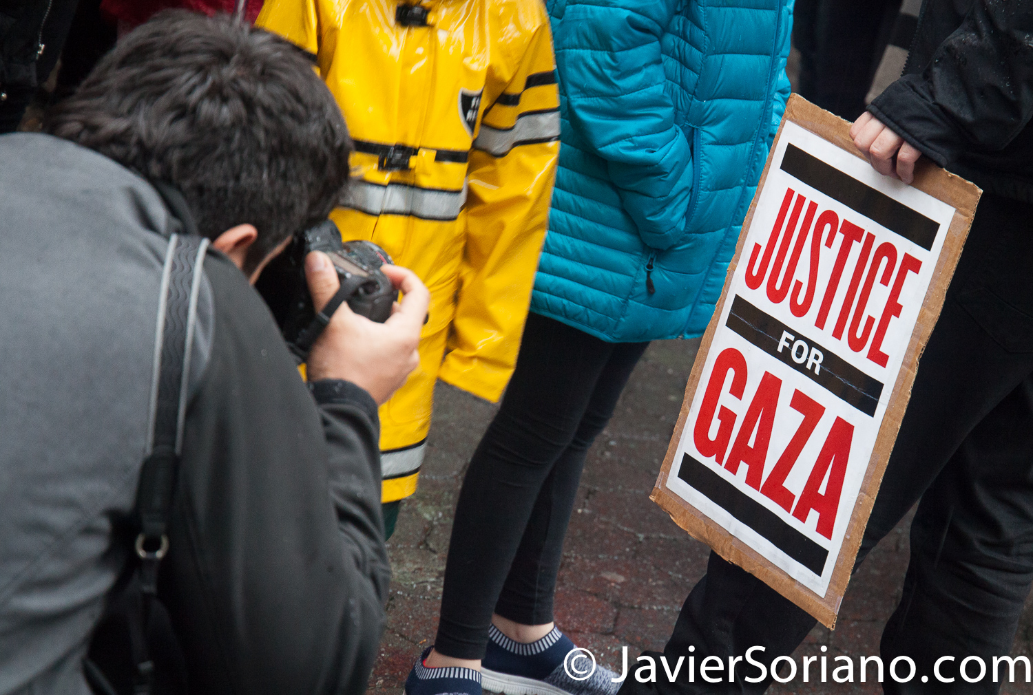 "5/16/2018. New York City - New Yorkers support Palestine. ""Justice for Gaza"" Photo by Javier Soriano/www.JavierSoriano.com"