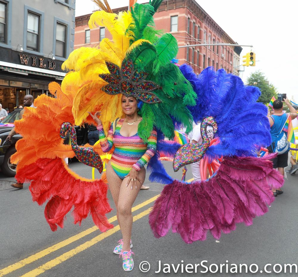 6/9/2018 Brooklyn, New York City - Brooklyn Pride Parade. Photo by Javier Soriano/www.JavierSoriano.com