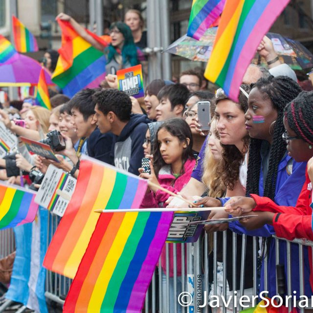 6/28/2015. New York City - Pride March in NYC. Photo by Javier Soriano/www.JavierSoriano.com