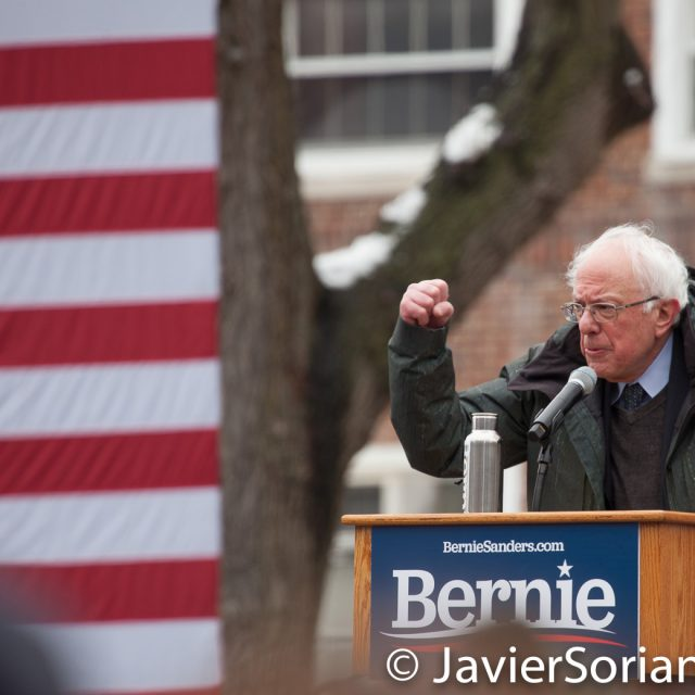 Saturday, March 2, 2019. Brooklyn College. Brooklyn, New York City. U.S. Senator and presidential candidate Bernie Sanders. This is his first event of his 2020 presidential campaign. Photo by Javier Soriano/www.JavierSoriano.com