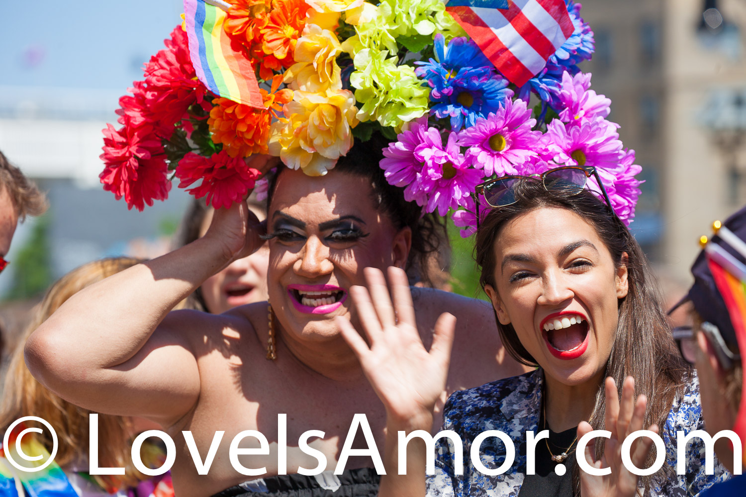 New York City – The 1 Bronx World Pride Rally, March and Festival was on Sunday, June 23, 2019. People celebrated Bronx World Pride, Pride Month and the 50th anniversary of the Stonewall Rebellion. The rally was at 161st Street and Grand Concourse. Alexandria Ocasio-Cortez Congresswoman for New York's 14th congressional district: Bronx – Queens, was one of the speakers. AOC (often referred to by her initials) marched from 161st Street and Grand Concourse to the festival at 49th Street and 3rd Ave.