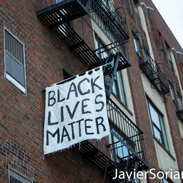Saturday, May 30, 2020. Brooklyn, New York City - March in Flatbush to demand justice for George Floyd. Residents in the area support the mach and demand justice for George Floyd. Photo by Javier Soriano/www.JavierSoriano.com