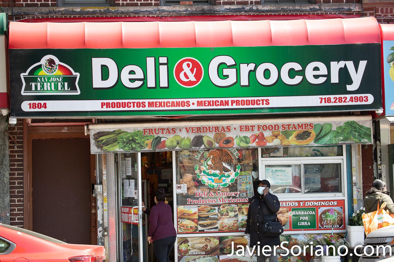 Thursday, May 21, 2020. Brooklyn, New York City - Mexican restaurant. San José Teruel. Jueves 21 de mayo de 2020. Brooklyn, ciudad de Nueva York - Restaurante mexicano. San José Teruel. Photo by Javier Soriano/www.JavierSoriano.com