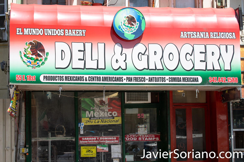 Thursday, May 21, 2020. Brooklyn, New York City - Mexican restaurant. El Mundo Unidos. Jueves 21 de mayo de 2020. Brooklyn, ciudad de Nueva York - Restaurante mexicano. El Mundo Unidos. Photo by Javier Soriano/www.JavierSoriano.com