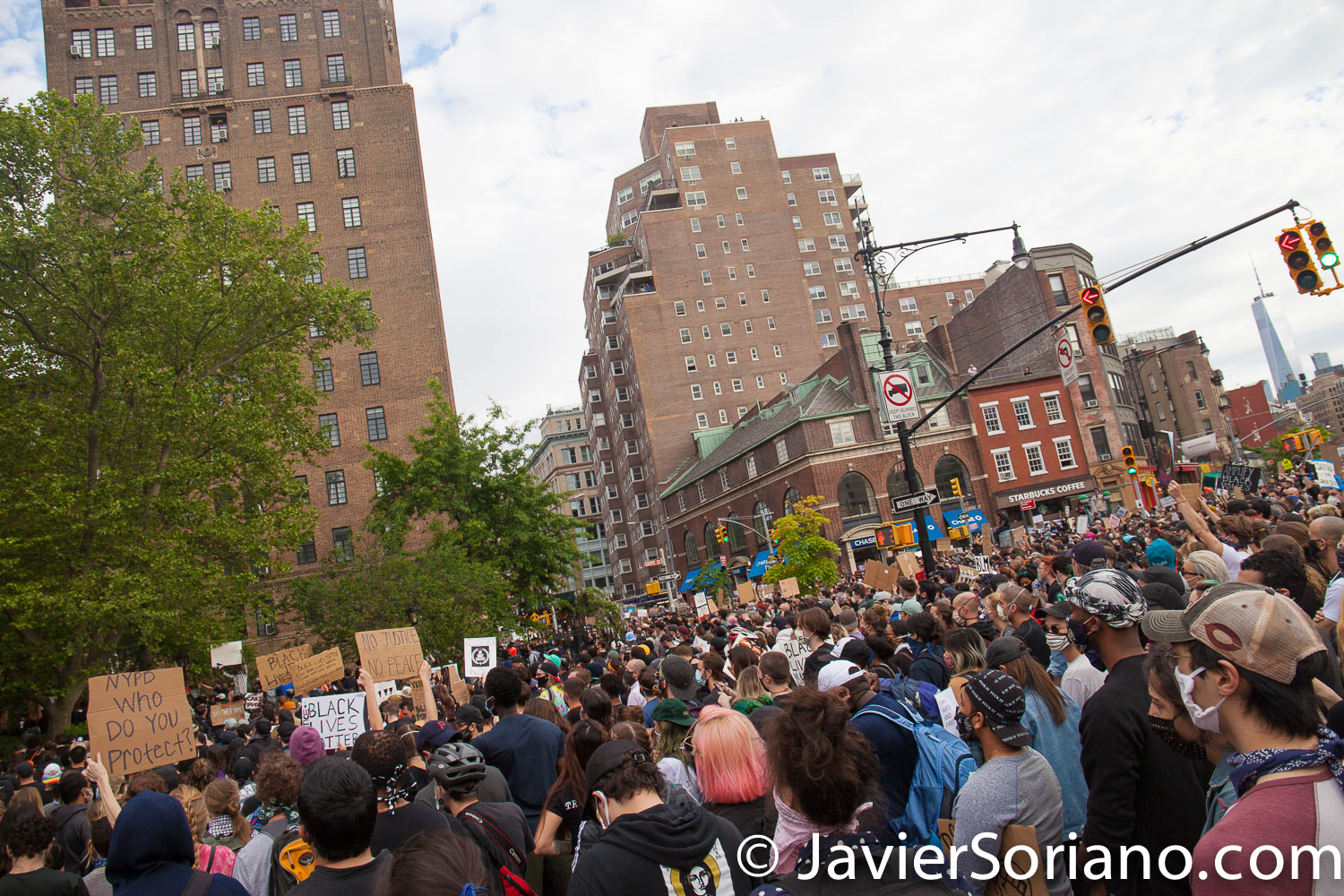 Tuesday, June 2, 2020. New York City - Rally in front of The Stonewall Inn in Manhattan to demand justice for George Floyd, Breonna Taylor, and too many others victims of police violence in the United States of America. Photo by Javier Soriano/www.JavierSoriano.com