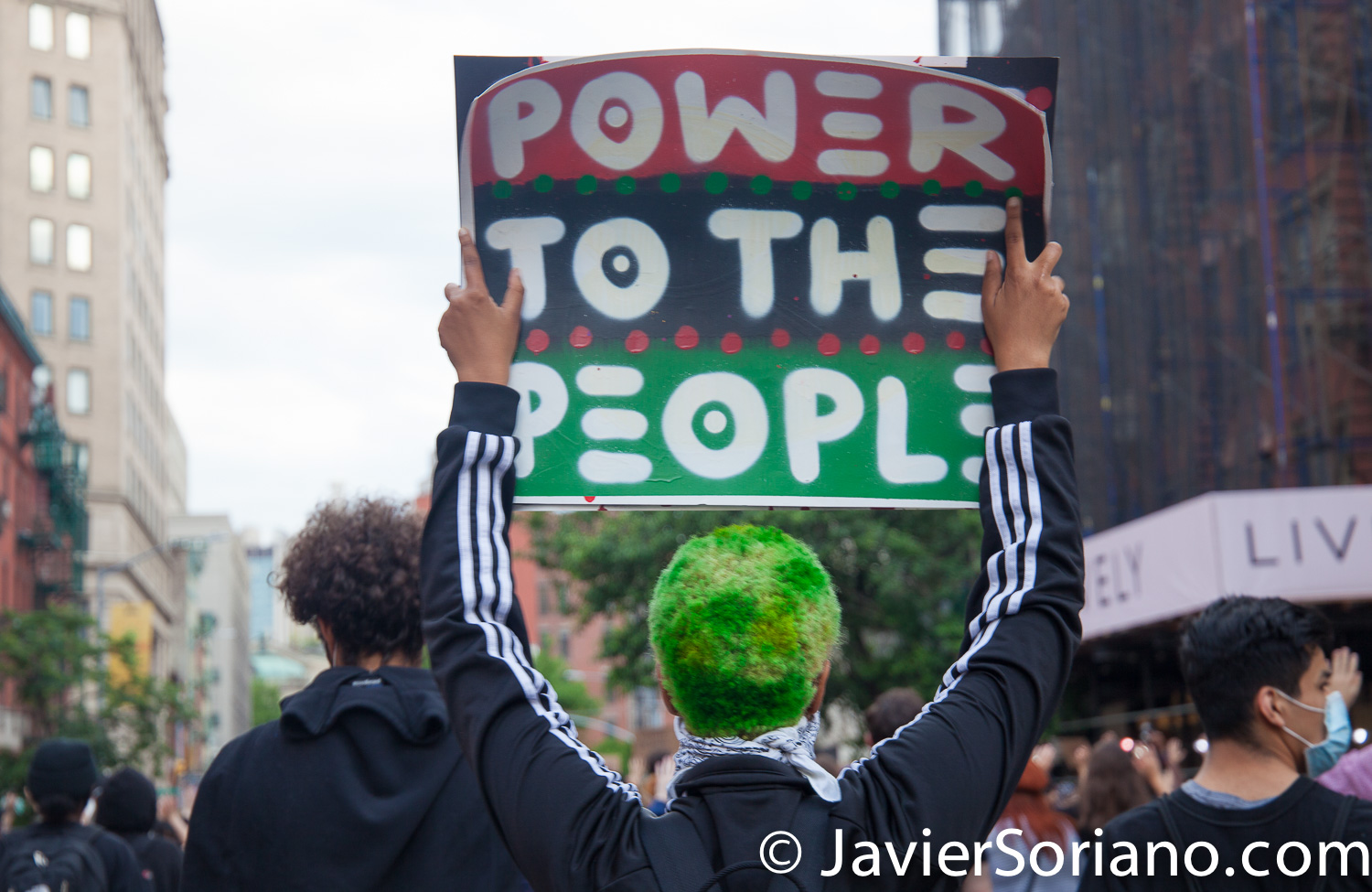 Tuesday, June 2, 2020. New York City - March from The Stonewall Inn to the Lower Manhattan to demand justice for George Floyd, Breonna Taylor, and too many others victims of police violence in the United States of America. Photo by Javier Soriano/www.JavierSoriano.com