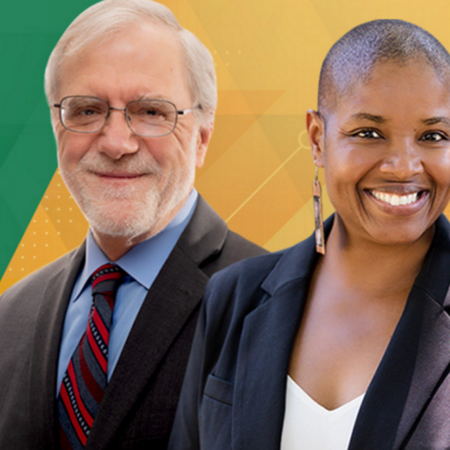 Saturday, July 11, 2020 - Howie Hawkins Wins Green Party Nomination, Angela Walker His Running Mate. Screen shot from howiehawkins.us