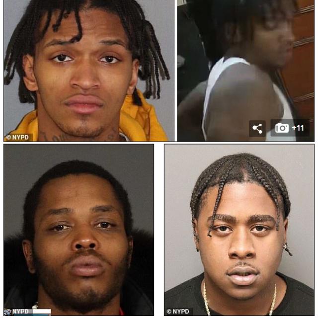 El NYPD dió a conocer fotos de Devonte Phillips, 21, Tyquan Dupont, 22, y Tyrone Lawrence, 26. El NYPD insta a cualquier persona que tenga información sobre estos tres hombres que llame a Crime Stoppers de manera anónima. En Inglés: 1800-577-8477 o en Español al 1-888-577-4782.