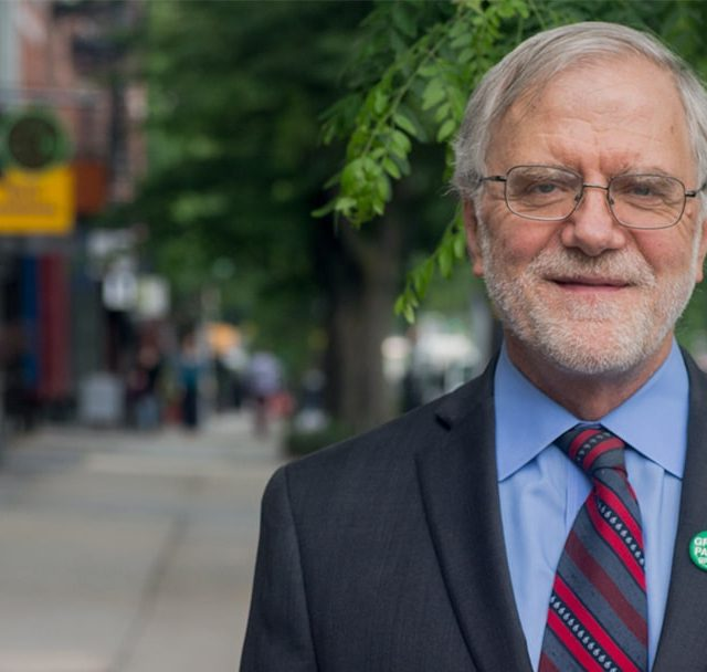 Howie Hawkins is the Green Party Nominee for President. Photo by howiehawkins.us